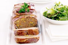 Beef and vegetable meatloaf main image