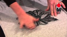 Textildesign mit Schablonen und Monotypie von Marabu