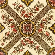 Late Victorian wall tile (c. 1880)