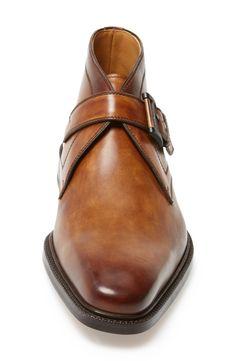 Magnanni 'Raiden' Monk Strap Chukka Boot (Men)