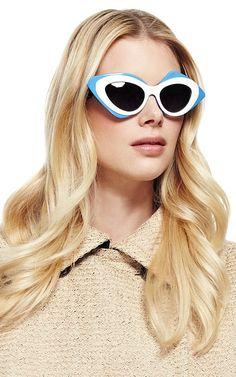 Great design from Linda Farrow sunglasses.