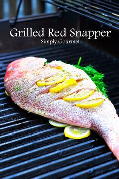 I enjoy baking and grilling whole fish. My kids love seeing the fish and I love the way it looks. I find buying whole fish all… I enjoy baking and grilling whole fish. My kids love seeing the fish and I love the way it looks. I find buying whole fish all… Whole Red Snapper Recipes, Whole Fish Recipes, Grilled Fish Recipes, Grilled Seafood, Easy Fish Recipes, Grilling Recipes, Fish And Seafood, Tilapia Recipes, Salmon Recipes