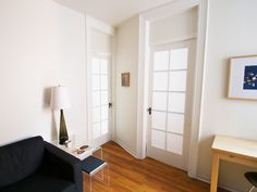 """Back in June, I put together a tutorial on how to apply removable fabric to windows in a post entitled """"The Doors."""" But I was mostly talking aboutone door. My bedroom door. Eva wasn&#8…"""