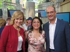 CEO Samea Maakrun, Mel and Kochie