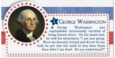 100+ Facts About US Presidents 1- George Washington