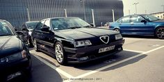 Alfa Romeo 164 Big Wheels