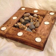Candle holder with natural stones DIY Source by Related posts: Succulent, candle holder, natural wood – # candles # candle holder unique Woodworking Projects Diy, Wood Projects, Diy Candles, Candle Lanterns, Candleholders, Glass Candle, Candle Wax, Hanging Lanterns, Beeswax Candles