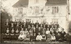 Setesdal ungdomsskule 1921-22 foto Hangård