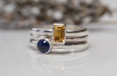 Birthstone Stacking Ring Gallery