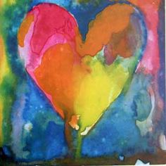 Jim Dine, Painting with Heart