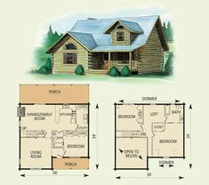 12 log cabin floor planscabin - Cabin Floor Plans