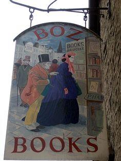 Proprietor: Peter Harries BOZ BOOKS, 13A Castle Street, Hay-on-Wye, Herefordshire HR3 5DF. United Kingdom.