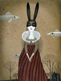 Black Ears by Claudia Legnazzi - Toi Gallery Cool Pencil Drawings, Pencil Drawing Tutorials, National Art School, Art Corner, Arte Pop, Illustrations, Book Illustration, Love Art, Art For Sale