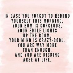 To all my ladies  #dontforget #peptalk #thursday #loveyou