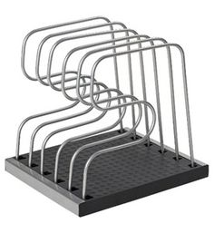Adjustable Bakeware Organizer Rack Image