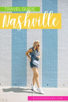 Your travel guide to Nashville Tennessee to see the best locations and most instagram worthy photo spots! #nashville #nashvilletravel #travelguide #travelideas #UStravel
