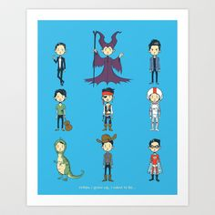 When I grow up, I want to be... Art Print by ChrisAbles - $16.00
