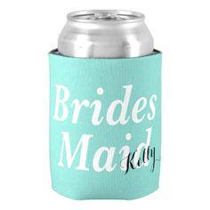 #bridesmaid - #BRIDE & CO Bridesmaid Party Can Cooler