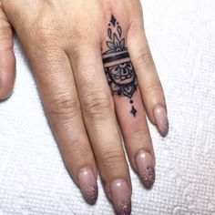 Intricate Ring Tattoo