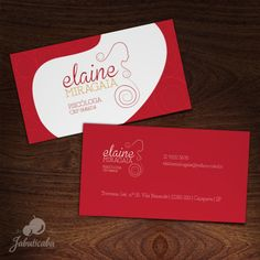 Identidade Visual + Cartão de Visitas - Elaine Miragaia || Psicológa