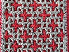 interlocking crochet �™� �™� ... #inspiration crochet #diy GB