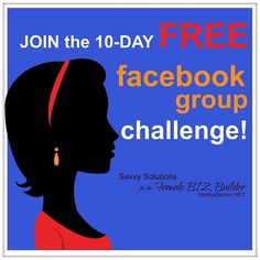 67 FAB Lady Boss's in the 10 day FREE FB Group Challenge! Woop! Woop! 2 days left to JOIN! Challenge opens us on Monday October 26th. YAY! Thanks so much for those who KEEP SPREADING THE NEWS! ----->>> SIGNUP LINK http://ift.tt/1kChfpF