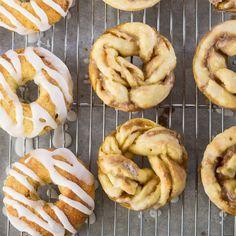Maple Twist Donuts. GF holiday good.