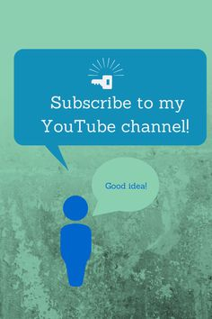 Need Pinterest, Facebook, Twitter, and YouTube tips? Then subscribe to my videos on my YouTube channel!