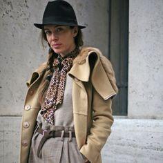 Street fashion: Milan