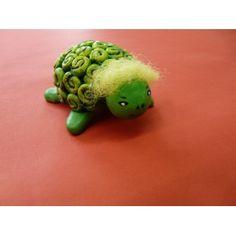 #Schildkräte basteln, #Tiere basteln   Herrliche Bastelidee zum Basteln   Schildkröte aus lufttrocknender #Modelliermasse fertigen: http://www.trendmarkt24.de/bastelideen.basteln-schildkroete.html#p
