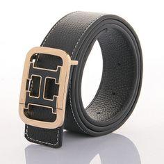 Men's belt high quality male calf skin casual strap fashion belt male $50.62