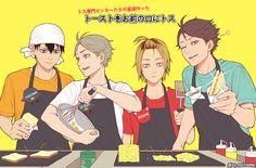 HQ!! Setters // Kageyama Tobio, Sugawara Koushi, Kozume Kenma & Oikawa Tooru - Haikyuu!! / HQ!!