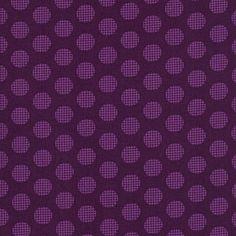 Hoodie - Fruit A La Carte - Crosshatch Dot in Eggplant