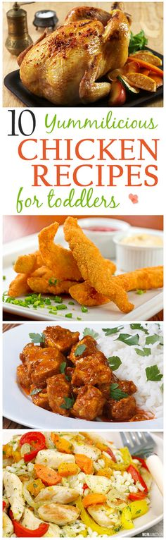 10 Yummilicious Chicken Recipes For Toddlers