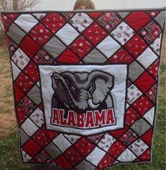 Finished Alabama quilt.