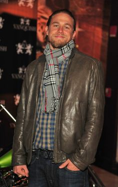 Pin for Later: Charlie Hunnam's Superhot Hollywood Evolution in 35 Photos  In November 2012, he hosted a party in Atlanta, GA.