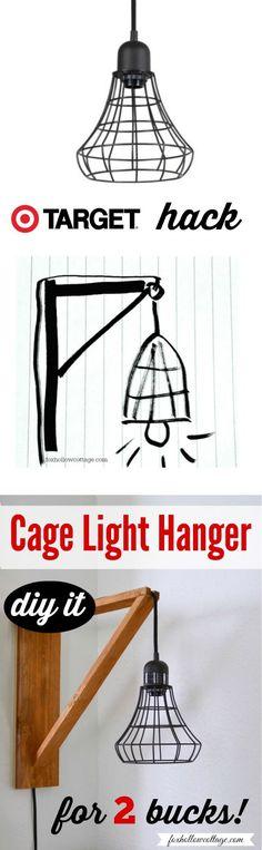 Best Decor Hacks : Industrial Pendant Cage Pendant Light Makeover, DIY Wood Wall Hanger Tutorial | ...  https://veritymag.com/best-decor-hacks-industrial-pendant-cage-pendant-light-makeover-diy-wood-wall-hanger-tutorial/