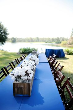 Simple Outdoor Wedding by Tea Olive Photography - Southern Weddings Magazine