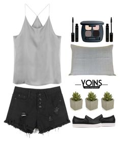 """""""YOINS CAMI TOP WE LOVE"""" by yoinscollection ❤ liked on Polyvore featuring Bare Escentuals, Crate and Barrel, MustHave, monochrome and yoins"""