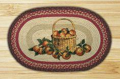 Apple Basket Printed Area Rug