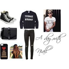 """A day with Niall"" by bandslove on Polyvore"