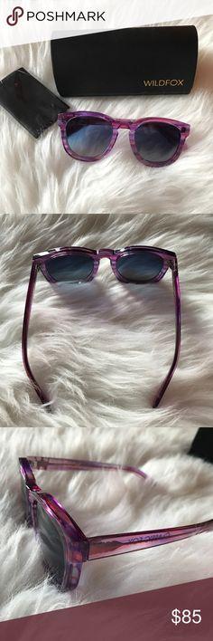 "New Wildfox ""Classic Fox"" Sunglasses Brand new pair of Classic Fox sunglasses by Wildfox. Wildfox Accessories Sunglasses"