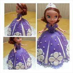 Princess sofia the first birthday cake
