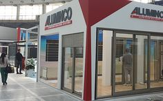 SEEBE, Belgrade, 8-12 Απριλίου 2014  Εντυπωσιακή παρουσίαση  της ευρύτερης γκάμας προϊόντων  της ALUMINCO!