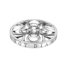 Consistenza Petal Coin - - 3 for 2 Coins - Collections - Emozioni Diamond Bracelets, Diamond Rings, Jewelry Bracelets, Memorial Jewelry, Ring Necklace, Jewelry Branding, Gold Jewelry, Rings For Men, Silver Rings