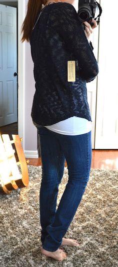 RD Style - Yolanda Airy Knit Sweater - Stitch Fix Review - January 2016 - Scrubs by Night blog #stitchfix #stitchfixreview #januarystitchfix