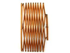 Accordion Style Wood Baby Gate Room Divider - Folding - Lattice - Old School Room Divider Headboard, Metal Room Divider, Small Room Divider, Room Divider Bookcase, Bamboo Room Divider, Living Room Divider, Room Divider Walls, Diy Room Divider, Fabric Room Dividers