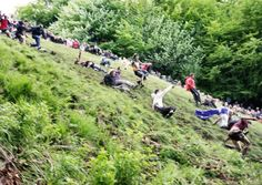 Cheese rolling in Gloucester / Photo: Mike Warren