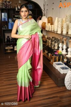 Sarees Attractive Linen Saree  *Fabric* Saree - Linen, Blouse - Linen  *Size* Saree Length With Running Blouse - 6.3 Mtr  *Work* Handloom Work  *Sizes Available* Free Size *   Catalog Rating: ★4 (1149)  Catalog Name: Aaryahi Solid Linen Sarees with Tassels and Latkans CatalogID_127991 C74-SC1004 Code: 357-1051086-