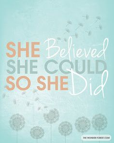"""""""She believed she could, so she did"""" ~Congratulations Bree on your college graduation~"""